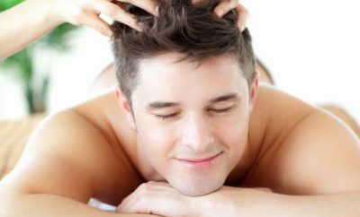 hair massage for men