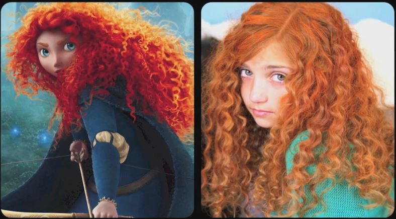 Brave Inspired Hairstyle