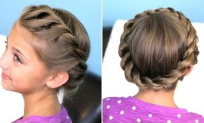 Crown Twist Braid hairstyle