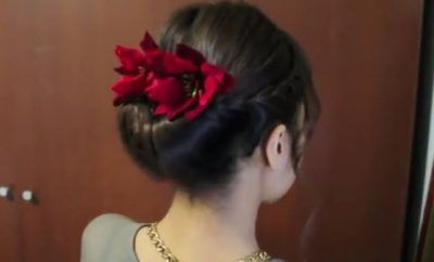 Holiday Braided Updo