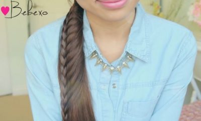 Ladder Braid Ponytail Hairstyle