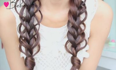 Loop Braid Hairstyle