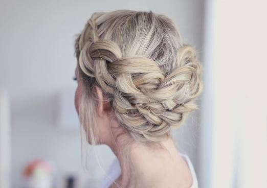 Braided Crown Hairstyle