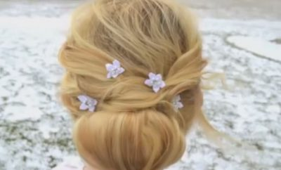 Beautiful Hairstyle for short and thin hair