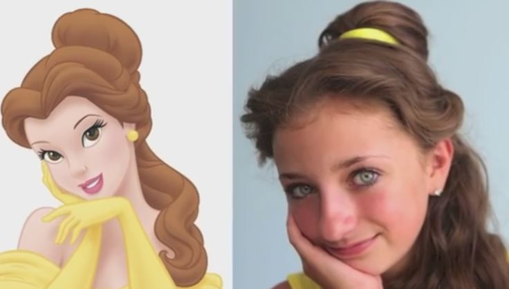 Belle's Hairstyle Tutorial