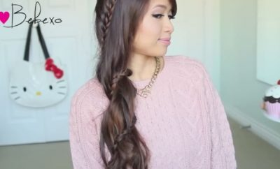 Carousel Lace Braid Hairstyle