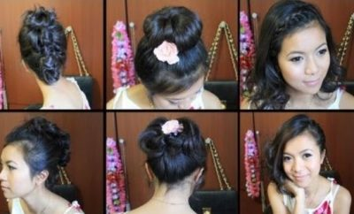 Cute Hairstyles for short medium hair