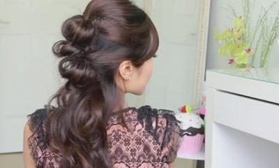 Easy Prom Hairstyle