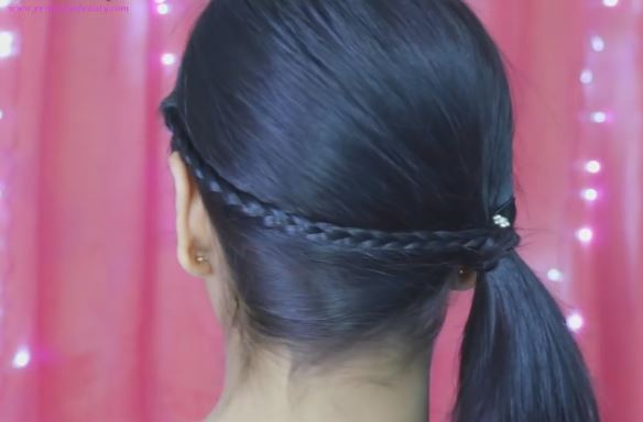 Indian Party Haistyles