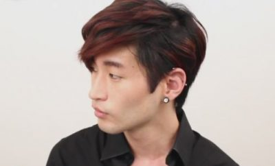 Korean Wavy Hairstyle for men