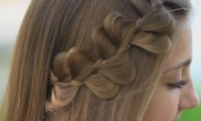 Rick Rack Braid Hairstyle