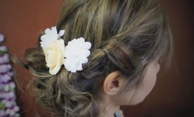 Romantic Prom Updo Hairstyle