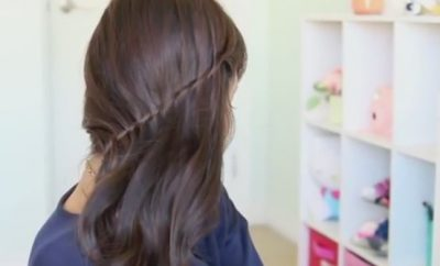 Side Swept Waterfall twist
