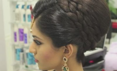 South Asian Bridal Hairstyle