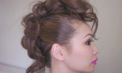 Trendy Mohawk Hairstyle