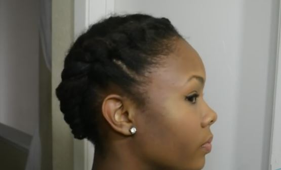 quick hairstyles for african american short hair